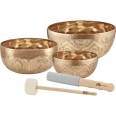 Set Singing Bowl Meinl SONIC ENERGY SB-SE-2400 x 3pcs Engraved