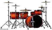 Set tobe DDrum Dominion Ash Player 5 pcs. Redburst