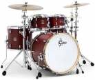 "Set tobe Gretsh Renown Maple 4pc w/22"" BD Burgundy Satin"