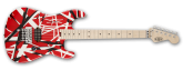 Chitara electrica EVH Stripe Red with Black Stripes