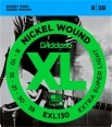 Corzi chitara electrica D'addario EXL130 Nickel Wound, Extra-Super Light, 8-38