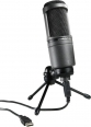 Microfon broadcast-podcast Audio-Technica AT2020USB