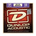 Corzi chitara acustica Dunlop 80/20 Brass Medium Light  11-52