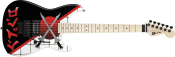 Chitara electrica Charvel Warren DeMartini Signature San Dimas Cross Swords