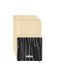 Cajon Meinl VIVA RHYTHM VR-TRICAJ-SO Tri Tone Natural w/Striped Onyx