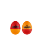 Shaker Meinl VIVA RHYTHM PLASTIC EGG VR-ES2 Red/Orange