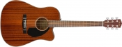 Chitara electro-acustica Fender CD-60SCE All Mahogany, Natural