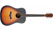 Chitara acustica Arrow Bronze Sunburst