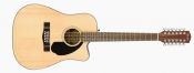 Chitara electro-acustica Fender CD-60SCE-12, Natural